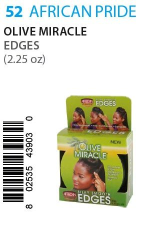 African Pride-Olive Miracle Edges (2.25oz)