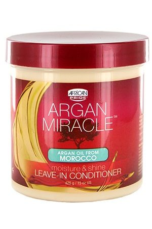 African Pride-Argan Miracle Leave-In Cond(15oz)