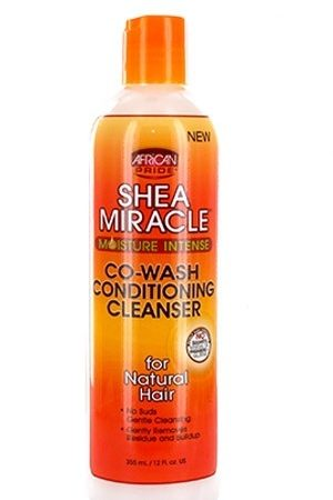 African Pride-Shea Miracle Co-Wash Conditioning Cleanser(12 oz)