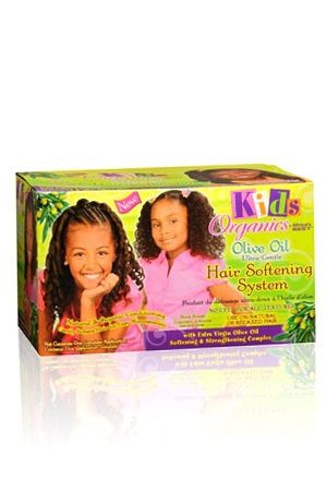Africa's Best-Kid's Organics Olive Oil Ultra-Gentle Hair Softening System (1 App)