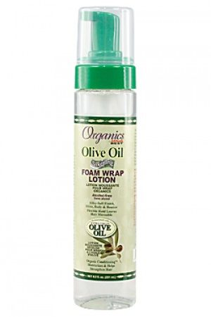 Africa's Best-Organics Olive Oil Foam Wrap Lotion (8.5 oz)
