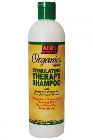 Africa's Best-Organics Stimulating Therapy Shampoo (12 oz)