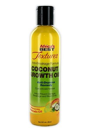 Africa's Best-Texture Coconut Growth Oil (8oz)