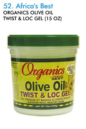 Africa's Best-Organics Olive Oil Twist & Loc Gel (15 oz)