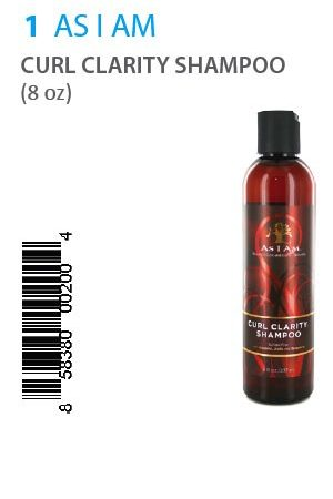 As I Am-CURL CLARITY SHAMPOO (8 oz)