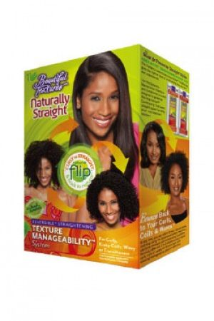Beautiful Texture-Naturally Straight Texture Manageability Kit