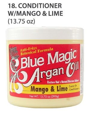 Blue Magic-Argan Oil Conditioner With Mango&Lime(13.75oz)
