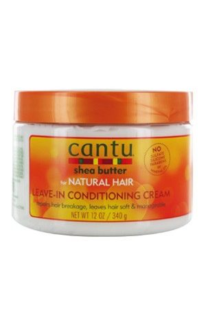 Cantu-Shea Butter Natural Hair Leave In Conditioning Cream (12 oz)