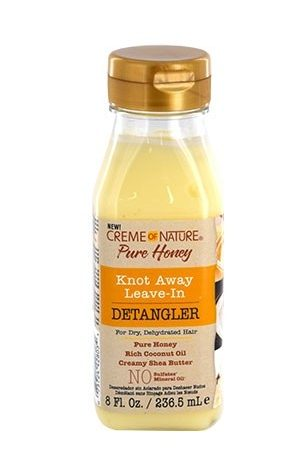 Creme of Nature-Pure Honey knot Away Leave-In Detangler (8 oz)