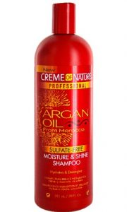 Creme of Nature-ARGAN OIL FROM MOROCCO Moisture & Shine Shampoo 20oz