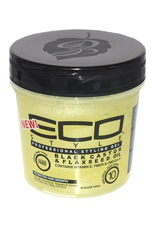 Eco Styler-Black Castor & Flaxseed Oil (16oz)