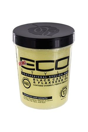 Eco Styler-Black Castor & Flaxseed Oil Gel (32oz)