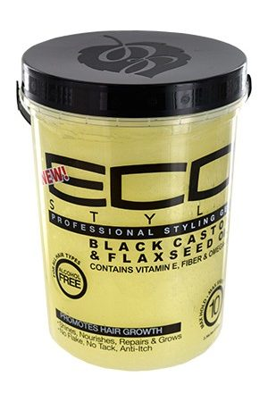 Eco Styler-Black Castor & Flaxseed Oil Gel (5lbs)