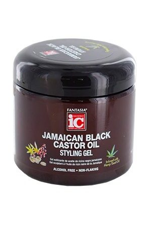 Fantasia-Jamaican Black Caster Oil Styling Gel (16 oz)