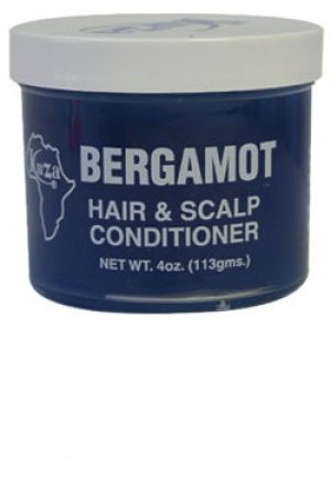 Kuza-Bergamot Hair & Scalp Conditioner (4oz)