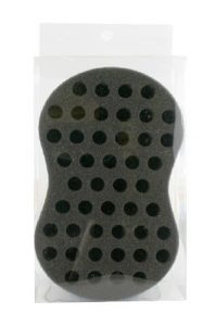 [Magic Gold-#5719] Hair Brush Sponge blue, large holes) -pc