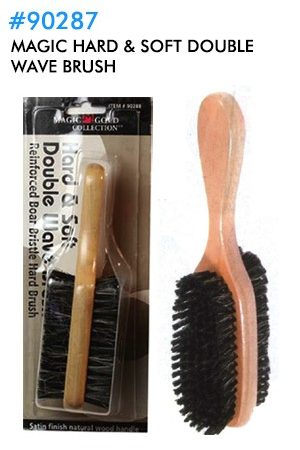 Hard & Soft Double Wave Brush
