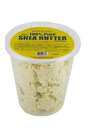Magic Gold-100% Pure Shea Butter Chunky White (20 oz)