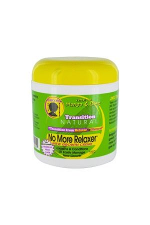 Mango & Lime-No More Relaxer New Growth Cream(6oz)