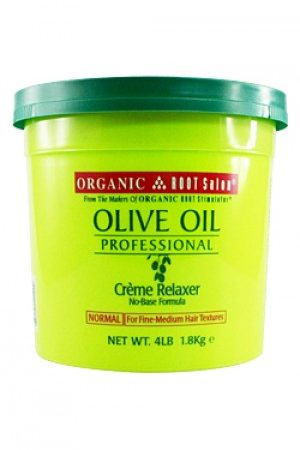 Organic Root-Olive Oil Creme Relaxer -Normal (4lb)