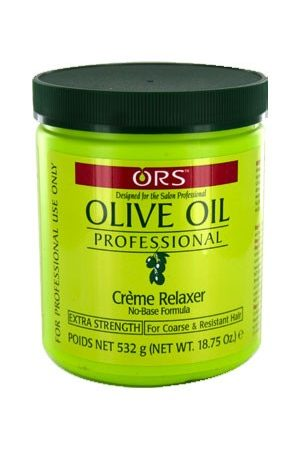 Organic Root-Olive Oil Creme Relaxer(18.75oz)-Extra Strength