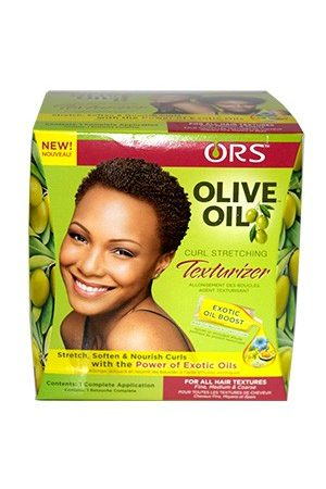 Organic Root Olive Oil Curl Stretching Texturizer