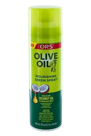 Organic Root-Olive Oil Sheen Spray-15.4oz
