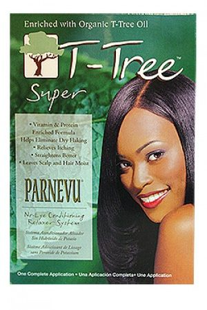 Parnevu- T-Tree No-Lye Conditioning Relaxer System-Super