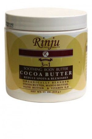 Rinju-Soothing Body Cocoa Butter (11 oz)