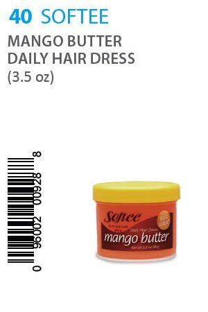 Softee-Mango Butter Daily Hair Dress -3.5oz