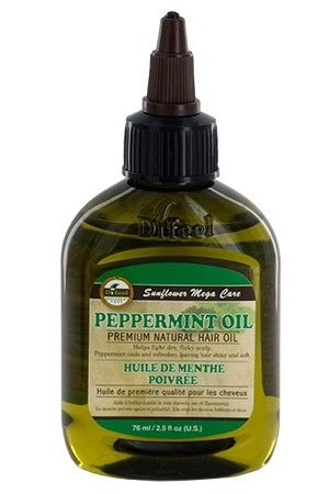 Sunflower-Difeel Premium Natural HairOil (2.5 oz)Peppermint