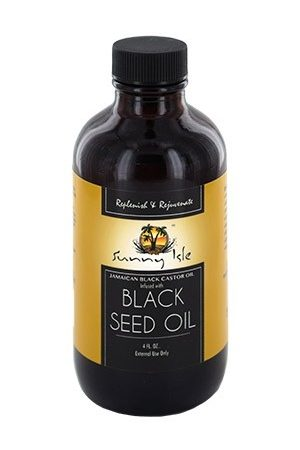 Sunny Isle Jamaican Black Castor Oil-JBCO Infused with Black Seed Oil (4 oz)