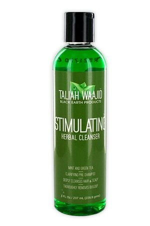 Taliah Waajid-Black Earth Products Stimulating Herbal Cleanser -8oz