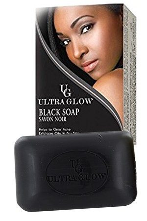Ultra Glow-Black Soap (100 g)
