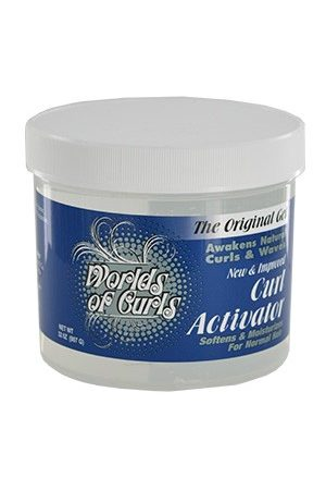 Worlds Of Curls-Curl Activator Gel-Regular (32oz)