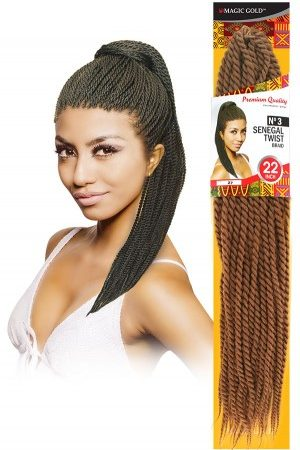 #3 Senegal Twist Braid 22″