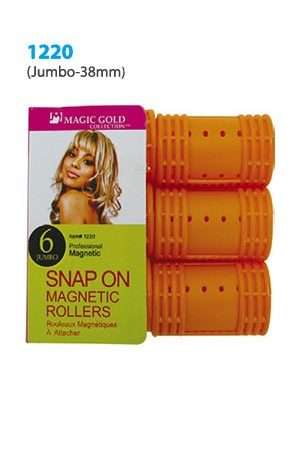 Snap On Magnetic Roller 6pc (Jumbo 38mm Orange)