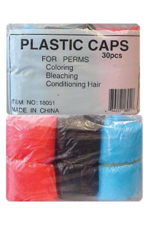 30pcs Shower Caps -Mix