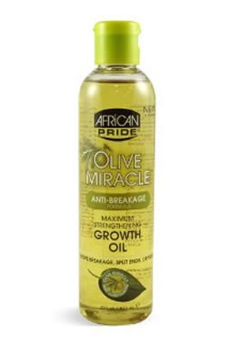 African Pride Olive Miracle Growth Oil (8oz)