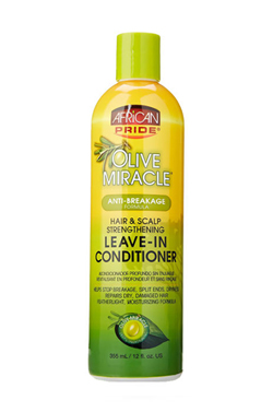 African Pride Olive Miracle Leave-In Conditioner (12oz)