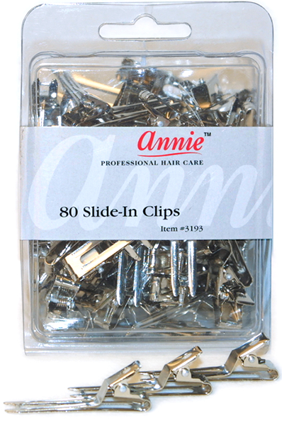 Annie Slide In Clips 80pc Hair Extensions Wigs