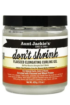 Aunt Jackies Dont Shrink Flaxseed Elongating Curl Gel (15oz)