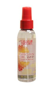 CREME of NATURE Argan Oil Anit Humidity Gloss & Shine Mist(4oz)