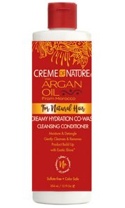 CREME of NATURE Argan Oil Creamy Hydration Co-wash Cleansing