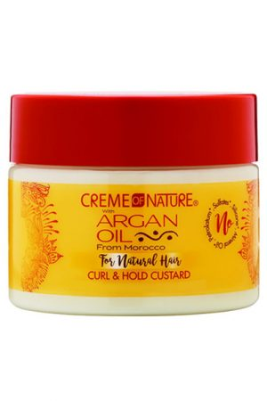 CREME of NATURE Argan Oil Curl&Hold Custard (11.5oz)