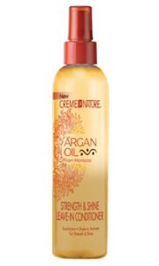 CREME of NATURE Argan Oil Leave In Conditioner (8.5oz)