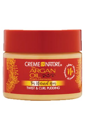 CREME of NATURE Argan Oil Twist&Curl Pudding (11.5oz)