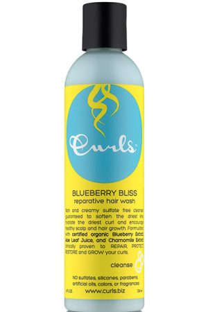 Curls Blueberry Bliss Reparative Hair Wash (8oz)
