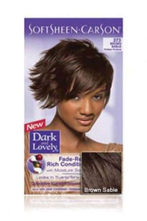 Dark & Lovely- Soft Sheen Carson-#373 Brown Sable