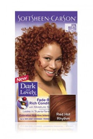 Dark & Lovely- Soft Sheen Carson-#376 Red Hot Rhythm
